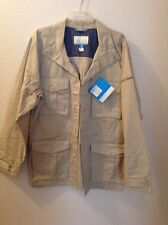 NWT Sz L Men's Columbia Mansfield Cliffs Jacket ~ MSRP $130 ~ Button Front ~