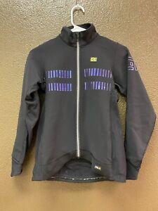 Alé Cycling Clima Protection 2 Future Winter Jacket - Black/Purple - Women Small