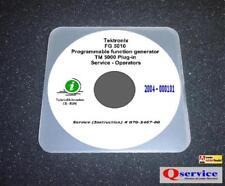 Tektronix Fg5010 Function Generator Service Manual Hi Res 17x11 Diagrams
