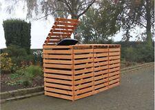 m lltonnenboxen aus holz f r 3 tonnen g nstig kaufen ebay. Black Bedroom Furniture Sets. Home Design Ideas