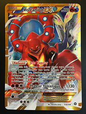 Carte Pokemon VOLCANION 115/114 Ultra Rare EX Full Art Secrète XY Française NEUF