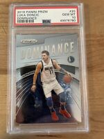 2019-20 PANINI PRIZM DOMINANCE #20 LUKA DONCIC 2nd Year RC - PSA 10 GEM MINT