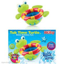 Nuby Bath Time Tub Toy Floating Turtle Toss Fun Baby Kids Boys Girls BPA Free