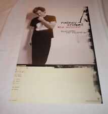 RODNEY CROWELL~The Outsider~Original Promo Poster~11x14~NM Condition~2005