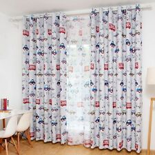 Newest Blackout Curtain Cartoon Style Children Room Kids Bedroom Drape 1PC Panel