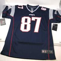 Rob Gronkowski NFL New England Patriots Nike Color Blue Jersey Youth Large