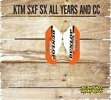 KTM Lower Forkguards Decals-Stickers-Graphics SX SXF EXC XC
