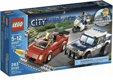 LEGO City High Speed Chase 60007 - 99.5% Complete w/Minifigures, Manuals And Bo