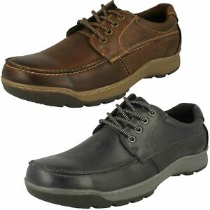 3Mens Hush Puppies Lace Up Casual Shoe Tucker