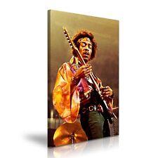 Jimi Hendrix LONA pared arte Foto impresión 50x76cm