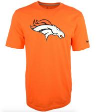 Nike Denver Bronco T-shirt - Womens - Slim Fit - Orange - Large