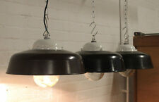 "1 of 10 ""APOLDA I"" Industrie Design Fabrik Lampe Bakelit Industrial Light"