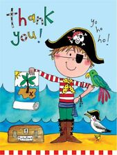 Rachel Ellen Mini Pirate Design Thank You Cards Boys Party Note Cards 5 Pack New