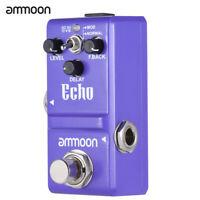 ammoon Nano Series Delay Guitar Effect Pedal True Bypass Durable New