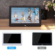 "10""Black HD LED Digital Photo Frame Picture Album SD USB MP4/Video/Movie Player"