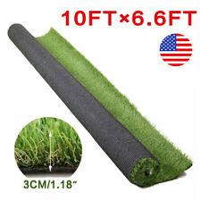 10x6.6 ft Artificial Grass Floor Mat Synthetic Landscape Lawn Turf Garden Carpet