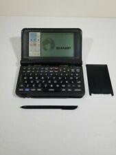 Sharp Wizard OZ-9520 Data Organizer Portable w/Stylus Card Fax System