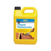 Everbuild 202 Integral Liquid Waterproofer Additive Mortar Rendering 5 Litre