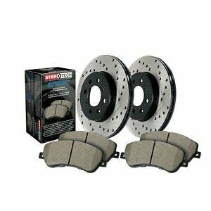 StopTech For E350 C300 E400 E250 Disc Brake Pad and Rotor Front Kit - 939.35021