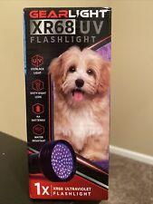 GearLight Xr68 Uv Black Light Flashlight - Detector Dog Urine, Scorpion & BedBug