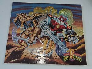 1990s Power Rangers Puzzle 100 piece collectable mighty morphin MB VINTAGE