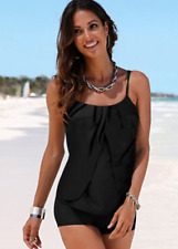 7d8150e437ad2 Black Tankini Top by BPC Selection Size UK 18