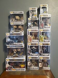 "Funko POP Game of Thrones Lot of 15 Rides and 6"" Most have Protectors"