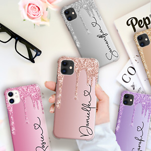 PERSONALISED PHONE CASE COVER NAME INITIALS SHOCKPROOF COVER FOR IPHONE 11 7 XR