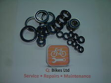 Full Compliment MAX Bearings - ABEC 3 (Full Suspension MTB Frames)