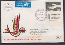 Israel 1963 Nr. 282 FDC - Kampf gegen den Hunger -