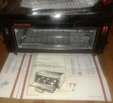 NEW VINTAGE PROCTOR SILEX TOASTER OVEN BROILER MODEL 0219B 1500W USA, W/ MANUAL