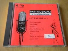 Hit parade vol. 2 Basi musicali in tonalità originaleCDDelusa Sei un mito Puoi