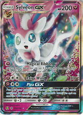 Pokemon Promo Card: Sylveon GX - 92a/145 - Rare Holo GX