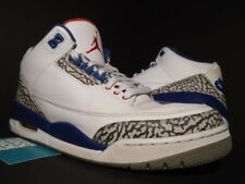 NIKE AIR JORDAN III 3 RETRO OG WHITE FIRE RED TRUE BLUE CEMENT GREY BLACK 10