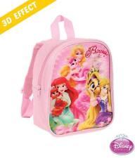 PRINCESS Kinder Rucksack rosa mit 3D-Effekt - Tasche 28 cm [NEU]