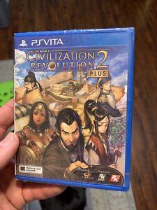 Civilization Revolution 2 Plus U.S. Seller English PlayStation PS Vita