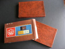 CANADA POST official 1976 Olympics volumes 1 and 2 nice PLZ read description