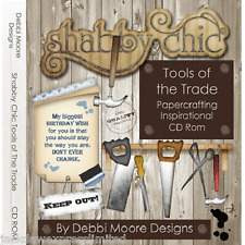 Debbi Moore Shabby Chic Tools of the Trade Papercrafting Inspirational CD 320103