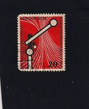 German Stamp 1955 The European Timetable Conference (A)