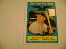 MINT 1996 TOPPS 1959 TOPPS ALL-STAR   MICKEY MANTLE