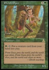 Pifferaio Elfico - Elvish Piper MTG MAGIC UD Urza's Destiny Eng