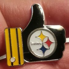 "PITTSBURGH STEELERS ""LIKE"" Thumbs Up Lapel PIN"