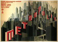 Metropolis Fritz Lang 1927 vintage style movie poster print B8