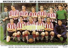 SOUTHAMPTON F.C.TEAM PRINT 1965-66 (WEBB/CHIVERS/KNAPP)