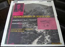 Decca SXL 2246 Peter Maag Mendelssohn in Scotland 45rpm x 4 LPs