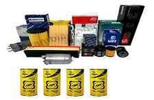 Kit Filtri Tagliando 4 Pz+Olio Bardahl 5w30 Exceed Vw Golf IV 1.4i 16V 55kW