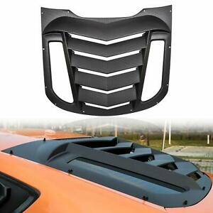 For Ford Mustang 2015-2019 Rear Window Scoop Louvers Sun Shade Cover GT Lambo