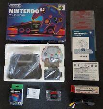 Nintendo 64 Console Boxed + Expansion Pak + NTSC-J N64 Japan 🇦🇺LOW SERIAL!