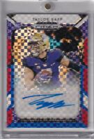 Taylor Rapp 2019 Prizm Red White & Blue Refractor Parallel Rc Auto Sp # ed 97/99