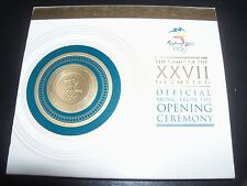 Sydney 2000 The Games Of The XXVII Olympics Opening Ceremony CD